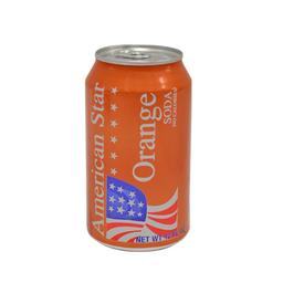 Soda American Stars Naranja 355 mL
