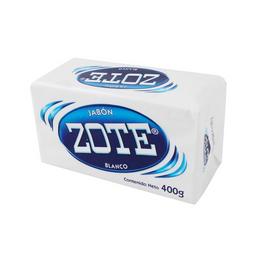 Jabon Zote Blanco en Barra 400 g