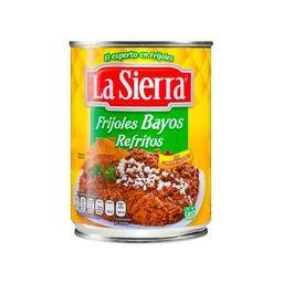 La Sierra Frijoles Bayos Refritos