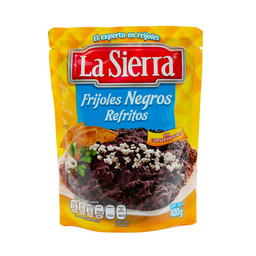 La Sierra Frijoles Negros Refritos