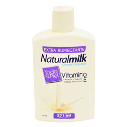 Crema Natural Milk Vitamina E 371 mL