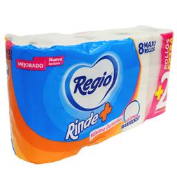 Papel Higienico Regio 300 Hojas 8 U