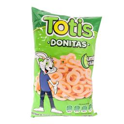 Botana Totis Donitas Sal y Limon 110 g