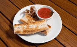 Pan con Tomate y Prosciutto