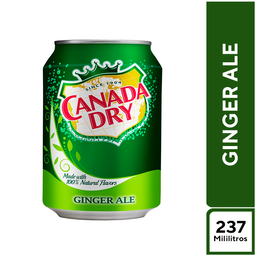 Canada Dry Ginger Ale 237 ml
