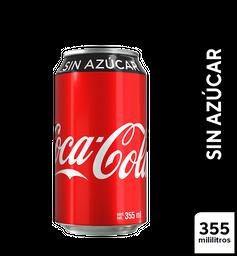 Coca Cola sin Azúcar (355 ml)