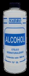 Alcohol Etilico Nadro 500 mL
