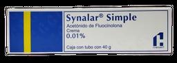 Crema Synalar Simple 40 g (0.01%)