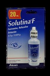 Solutina F 20 mL (0.300 g/0.016)