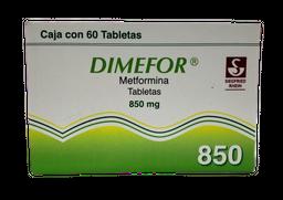 Dimefor 60 Tabletas (850 mg)