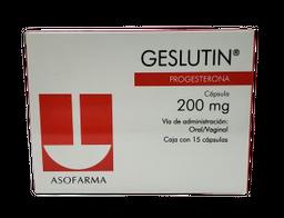 Geslutin 15 Capsulas (200 mg)