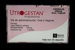 Utrogestan 15 Capsulas (100 mg)