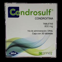 Condrosulf 30 Tabletas (800 mg)