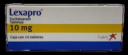 Lexapro 14 Tabletas (10 mg)