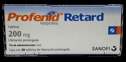 Profenid Retard 20 Tabletas (200 mg)