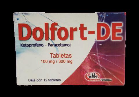 Comprar Dolfort- de (100 Mg/300 Mg)