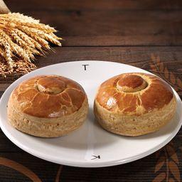 Bisquets Integrales con Mermelada Santa Rosa (4 pzas)