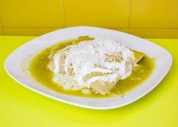 Enchiladas Verdes Pollo