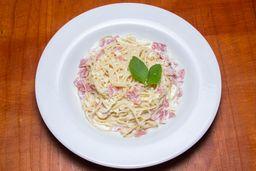 Spaguetti a la Crema