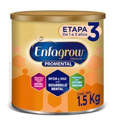2x1 Alimento en polvo Enfagrow Promental Etapa 3, 1.5 Kg