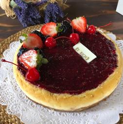 Pastel Cheesecake de Frutos Rojos