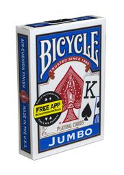 Bicycle Baraja Poker Jumbo