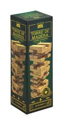 Novelty Juego de Mesa Torre de Madera de Lujo