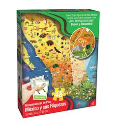 Novelty Rompecabezas de Piso México y Sus Riquezas