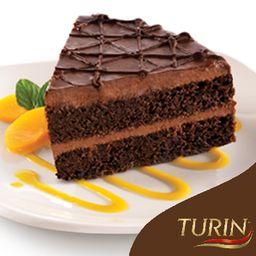 Pastel de chocolate Turín