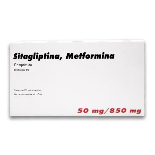Comprar Farmacias Similares Metformina/Sitagliptina (850 Mg/50 Mg)