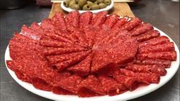 Plato de Chorizo Español