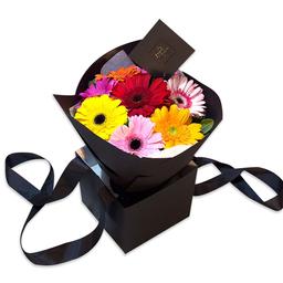 Ponch & Caprico Bouquet Mix Alegre de Gerberas de Varios Colores
