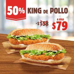 50% Off 2 King de Pollo $79
