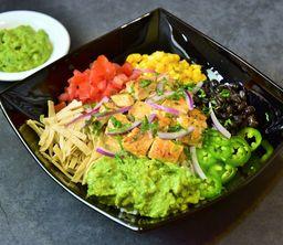 Poke bowl a la Mexicana