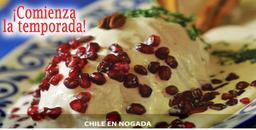 ¡PROMO! 1/2 Chile en Nogada