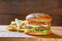 Beef Kabab Burger