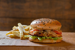 Tandoor Crispy Chicken Burger