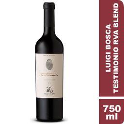 Luigi Bosca Testimonio Reserva Blend Vino Tinto Cabernet