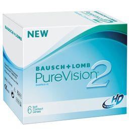 Lentes de contacto Purevision 2 HD 6Pk
