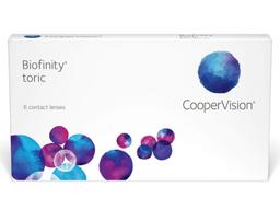 Lente de contacto Hidrogel Biofinity/6