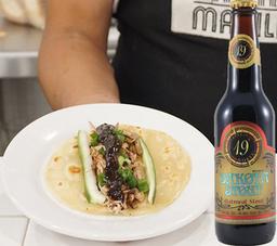 Tacos Kim + 1 Cerveza Dakota