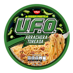 Nissin U.F.O. Pasta Arrachera Toreada
