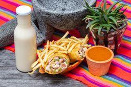 Combo Burrito Chuleta