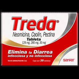 Treda (129 mg) / (280 mg) / (30mg)