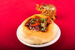 Chicken Tikka Puri