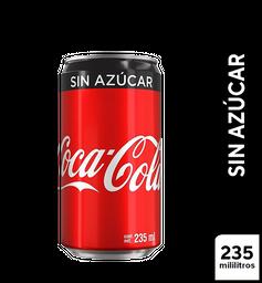 Coca-Cola sin Azúcar 235 ml