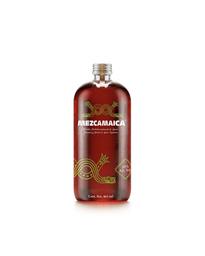 Mezcamaica Bebida Alcohólica Preparada de Agave Espadín Jamaica