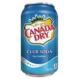 Canada Dry Club Soda 355 ml