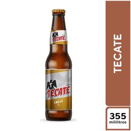 Tecate Ambar 355 ml