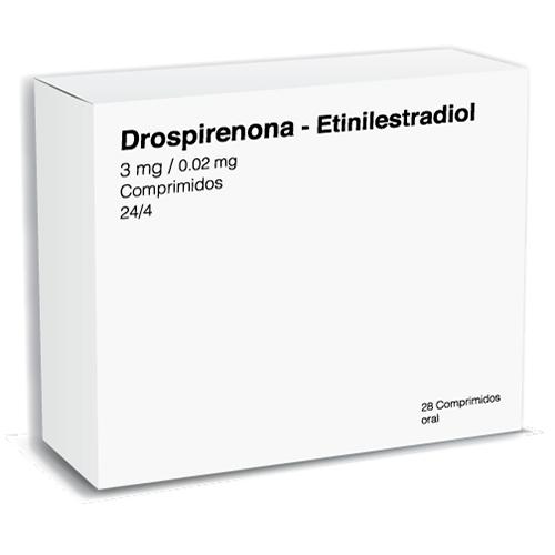 Comprar Drospirenona/Etinilestradi Ol 3/0.02Mg
